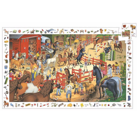 Horse Riding Observation Puzzle - 200 Pieces