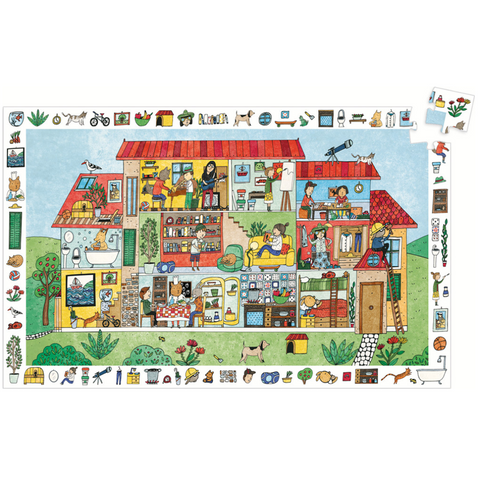 The House Observation Puzzle - 35 Pieces