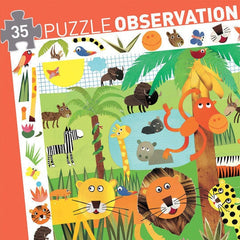 Observation Puzzle - Jungle