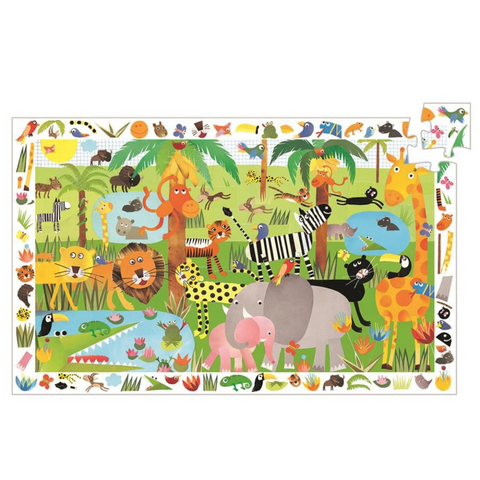 Jungle Observation Puzzle - 35 Pieces