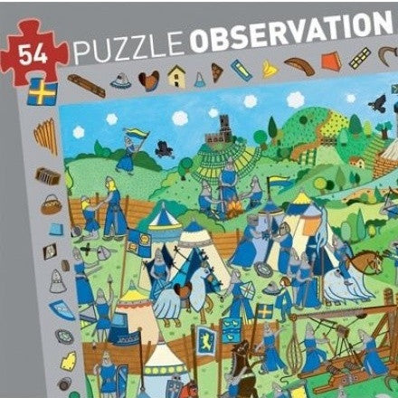 Observation Puzzle - Knights Village