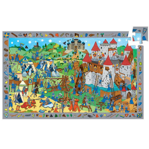 Knights Village Observation Puzzle - 54 Pieces