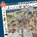Fortified Castle Observation Puzzle - 100 Pieces