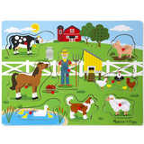 Old MacDonald's Farm Sound Puzzle - 8 Pieces