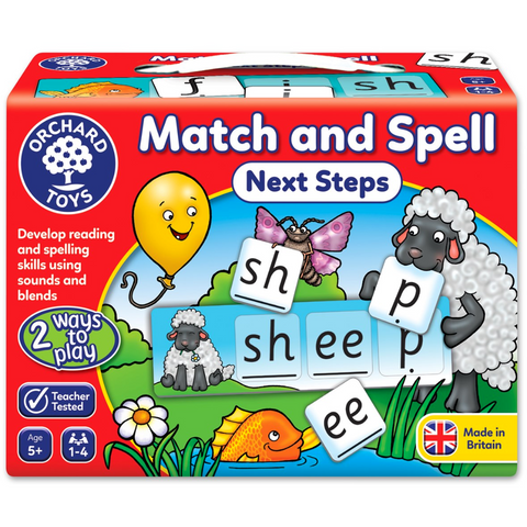 Match and Spell - Next Steps