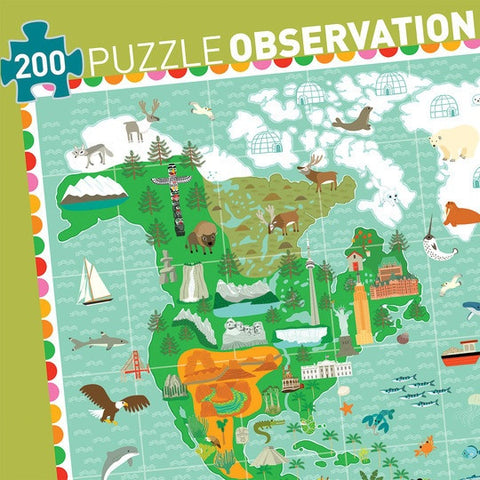 Observation Puzzle - Monuments of the world