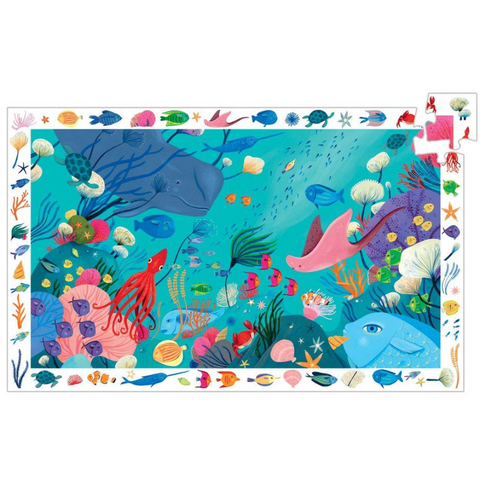 Aquatic Observation Puzzle - 54 Pieces