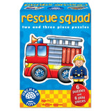 Rescue Squad Jigsaw Puzzles - 2 & 3 Pieces