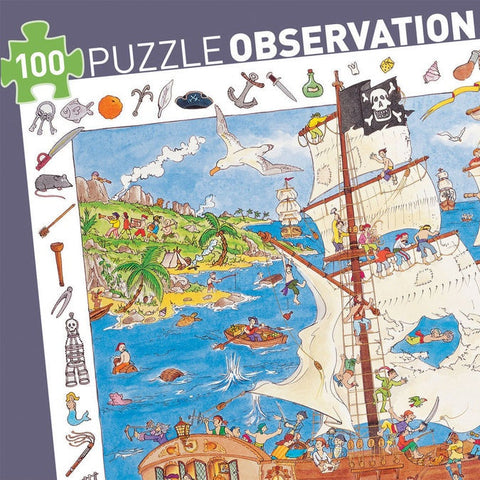 Observation Puzzle - Pirate