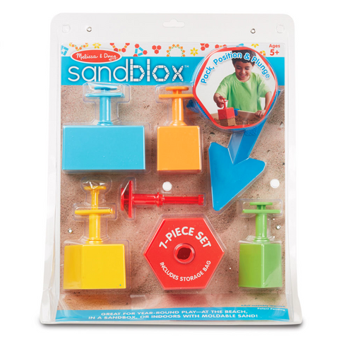 Sandblox - 7 Piece Sand Shaping Set