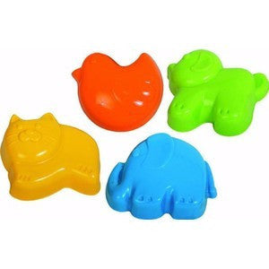 Set of 4 moulds