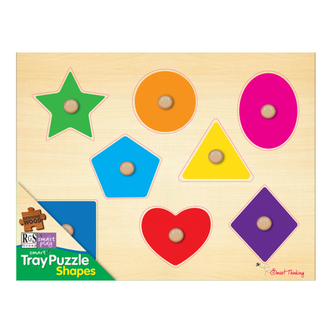 Shapes Tray Puzzle - 8 Pieces