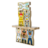 Stacking Wooden Chunky Puzzle - Jobs