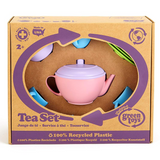 Tea Set - Pink Teapot