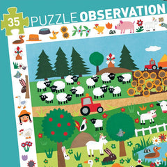 Observation Puzzle - The Farm