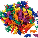 Wild Animal Counters - 120 Pieces