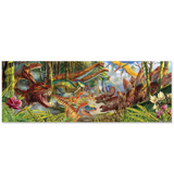 Dinosaur World Floor Puzzle - 200 Pieces