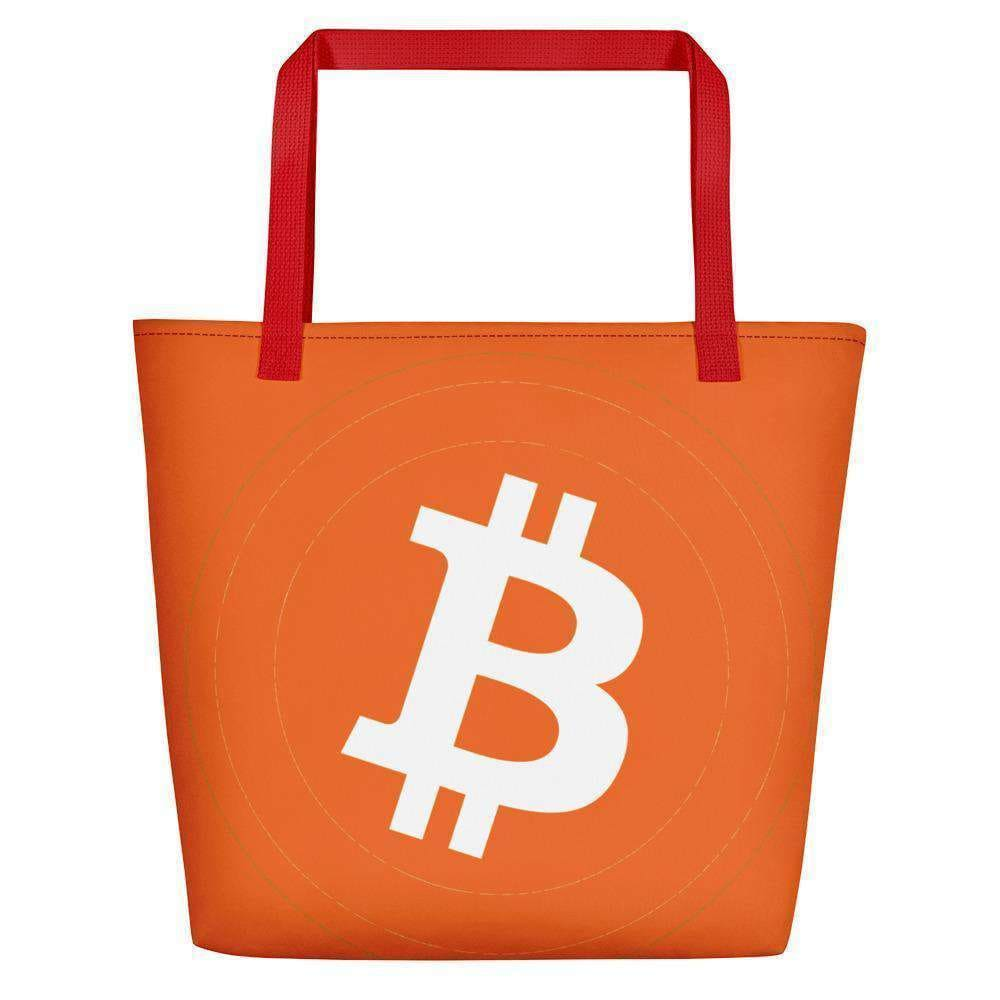 Bitcoin Beach Bag TheBitcoinWardrobe