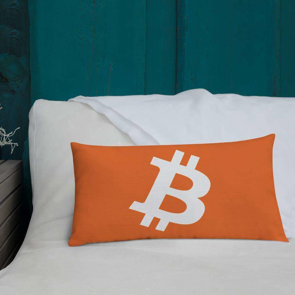 Bitcoin Orange Premium Pillow