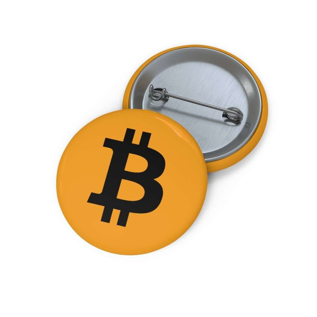 Bitcoin Pin Button - 1,25 - Accessories
