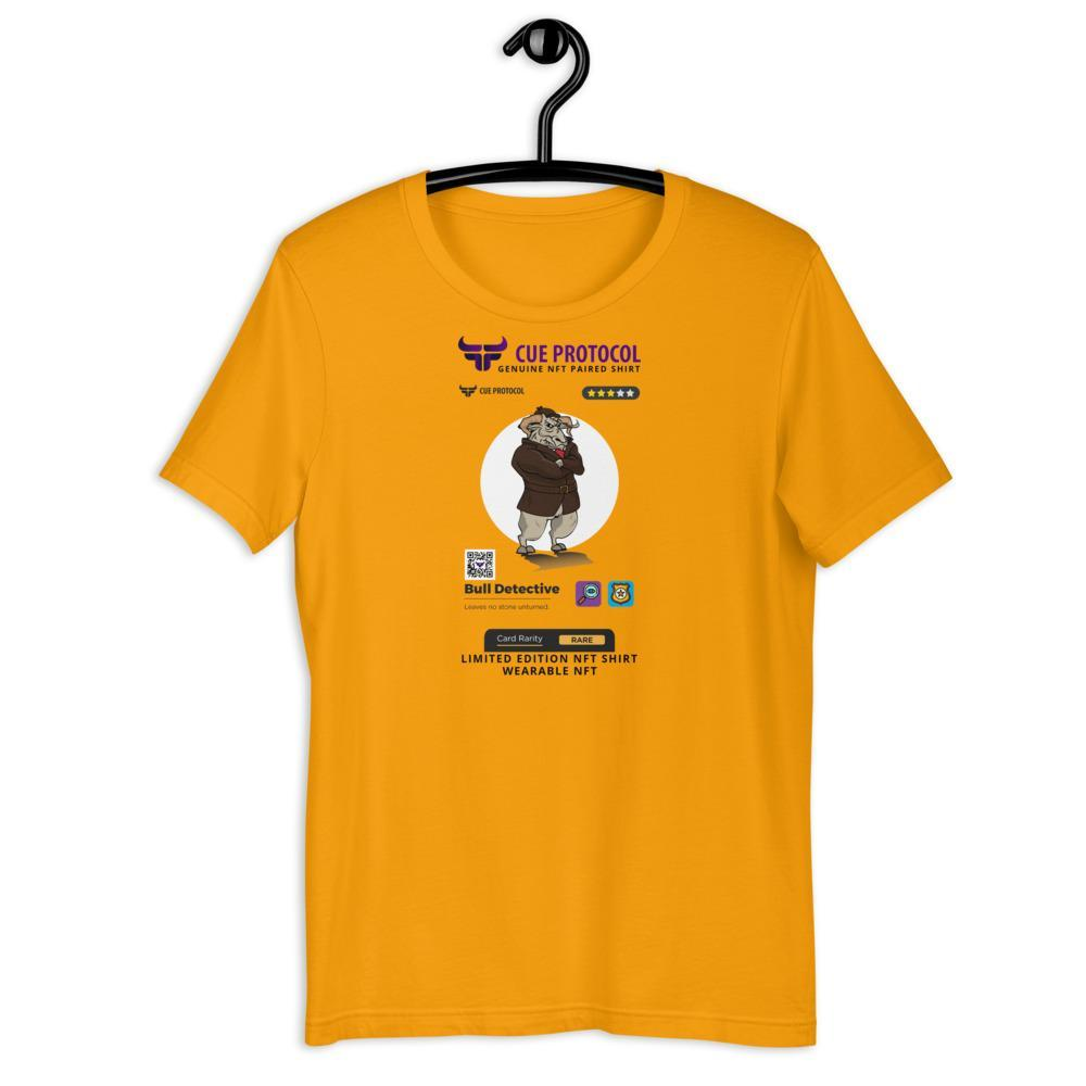 Bull Detective NFT Paired T-Shirt CUE Protocol