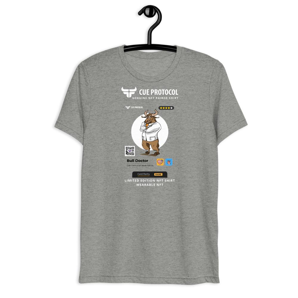 Bull Doctor NFT Paired T-Shirt CUE Protocol