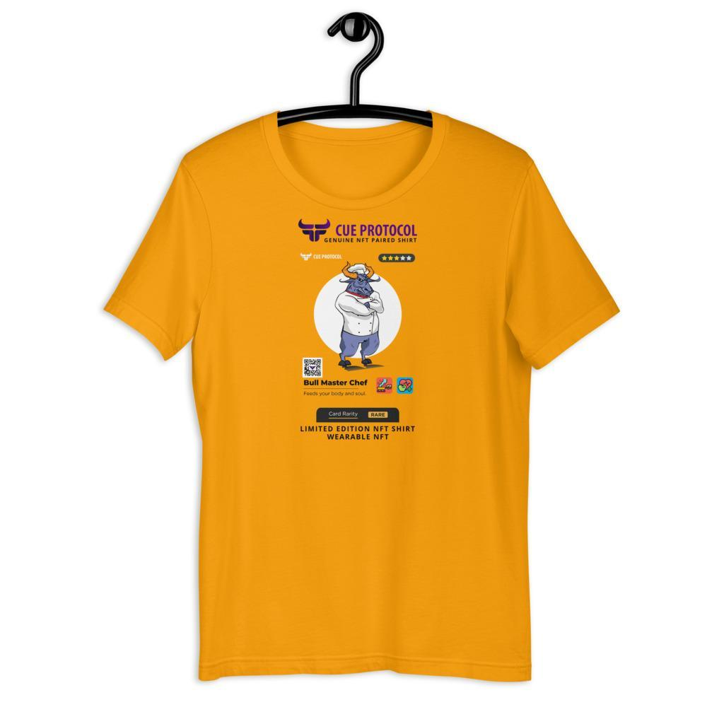 Bull Masterchef NFT Paired T-Shirt CUE Protocol