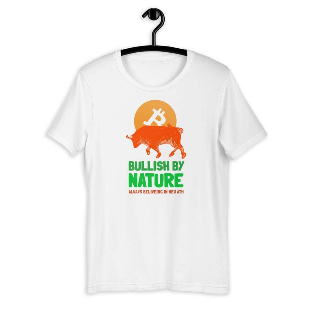 Bullish by Nature Unisex T-Shirt - White / XS
