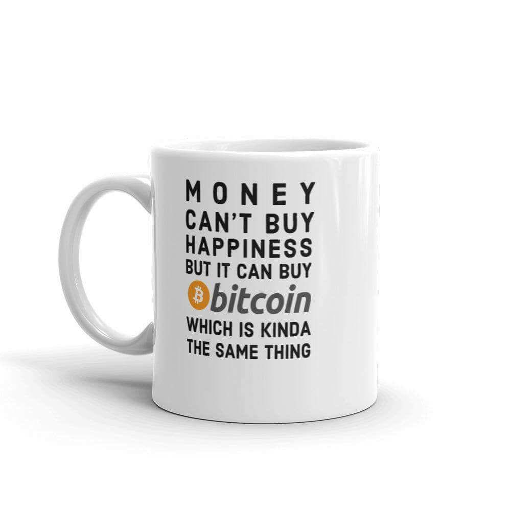 Buy Bitcoin Be Happy Mug