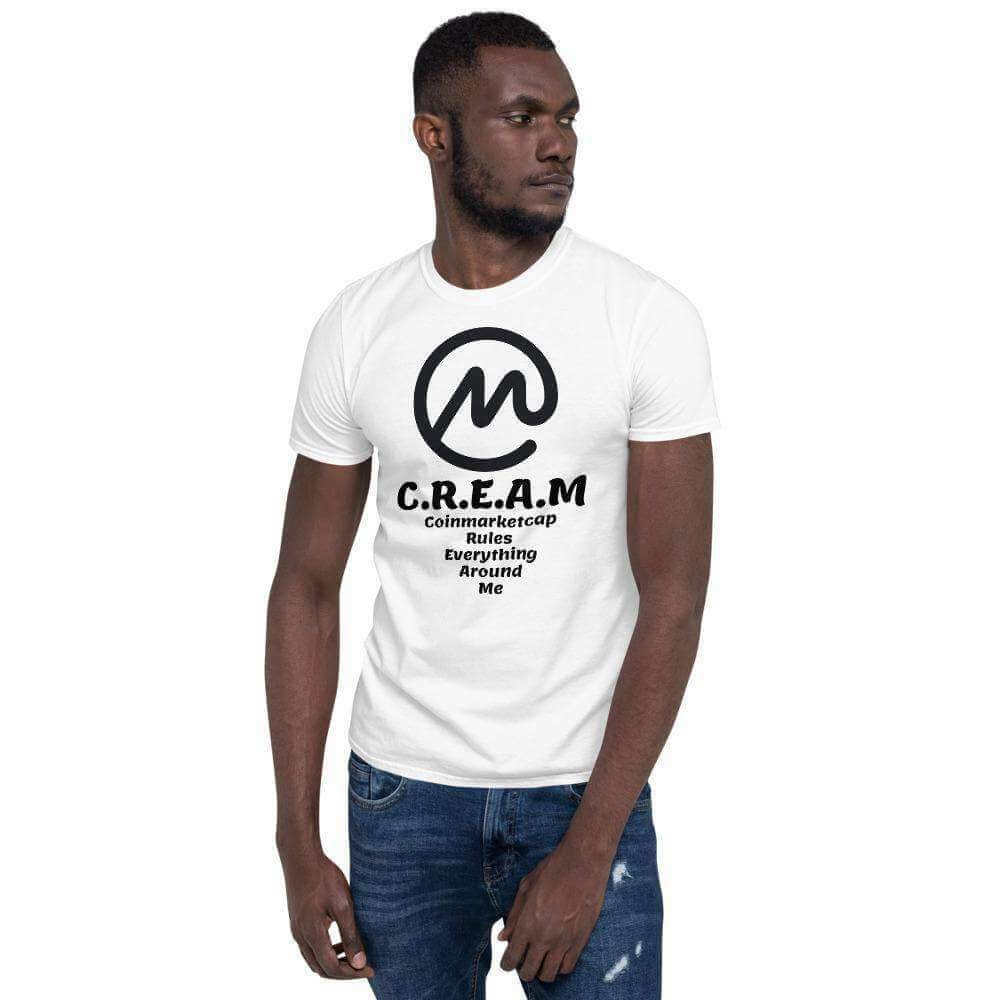 C.R.E.A.M Short-Sleeve Unisex T-Shirt - White / S