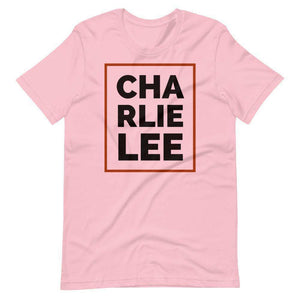 Charlie Lee, Unisex T-Shirt TheBitcoinWardrobe Pink S