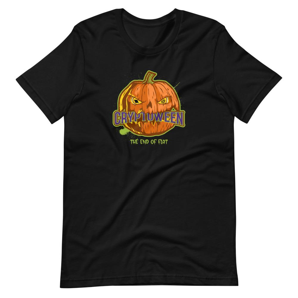 Cryptoween, The end of fiat, Unisex T-Shirt