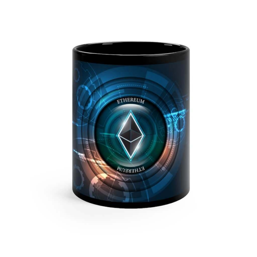 Ethereum Black mug 11oz