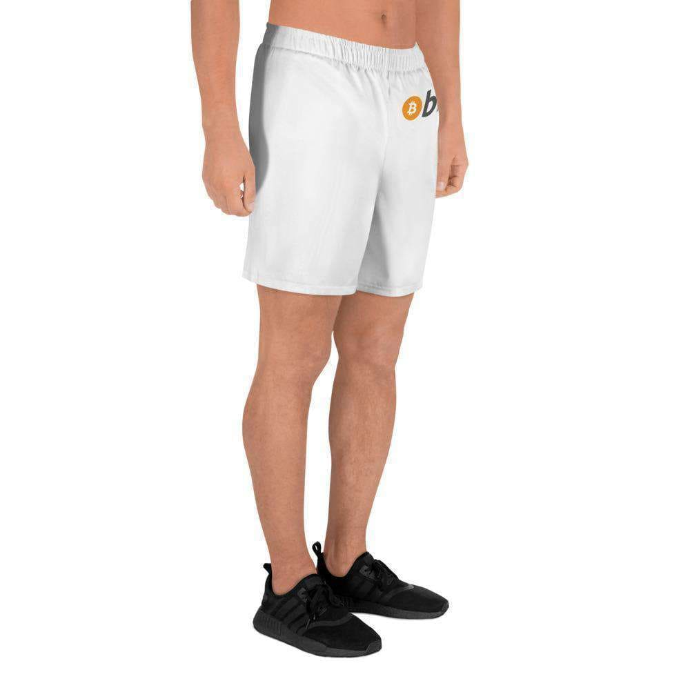 Men's Athletic Long Bitcoin Shorts short TheBitcoinWardrobe