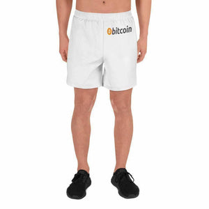 Men's Athletic Long Bitcoin Shorts - XS - short