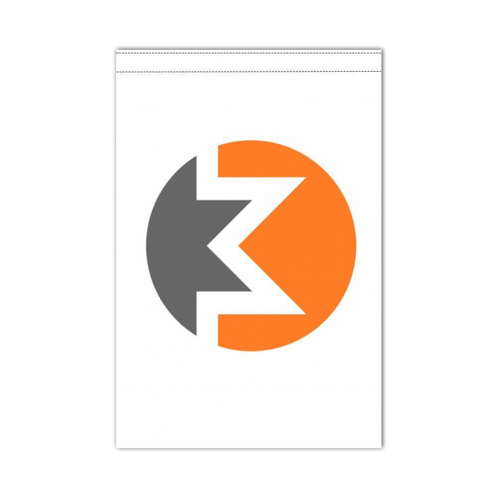Monero Flag 12x18 inch (For boats or outdoors, delivered without flagpole)