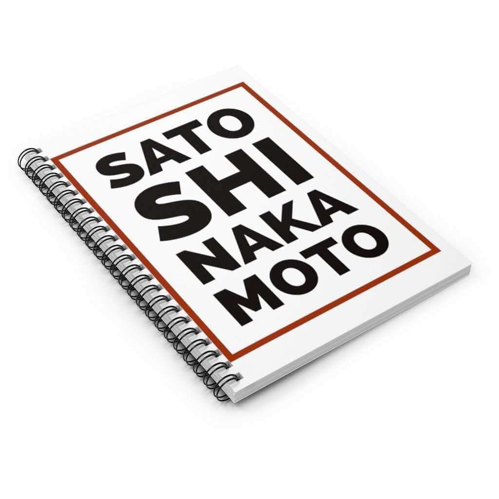 Satoshis Spiral Notebook - Ruled Line