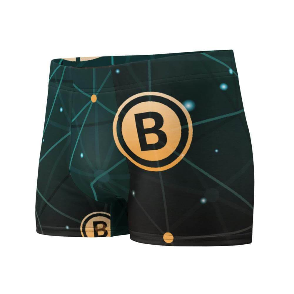 Stylish Bitcoin Boxer Briefs - XS