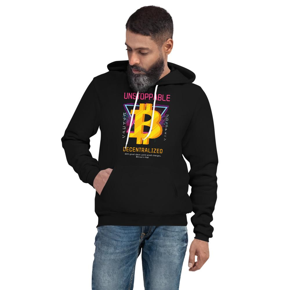 Unstoppable Bitcoin Unisex hoodie