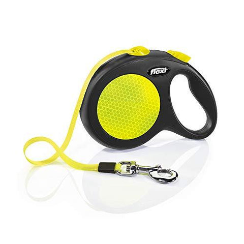 flexi neon cinta tape reflectante perro