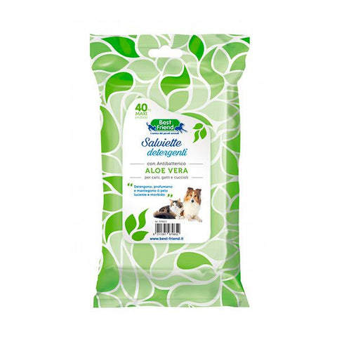 Best Friend Aloe Wipes FOR DOGS AND CATS