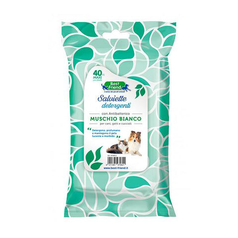 Best Friend Moss Wipes for dogs