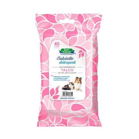 Best Friend Talco Wipes for dog