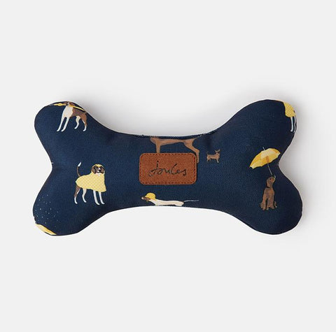 Rosewood Bone pillow dog toy