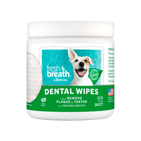 Tropiclean Dog Dental Wipe