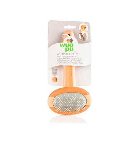 Wuapu metal card brush for dogs