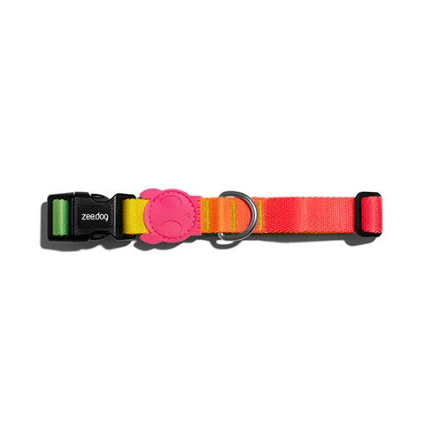 zee.dog gradients collar citrus perro