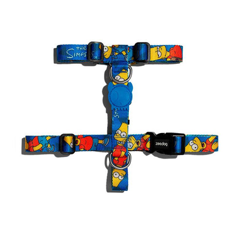 Zee.Dog Bart Simpson Harness