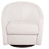 Madison Swivel Glider in Microsuede