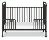 Abigail crib metal black